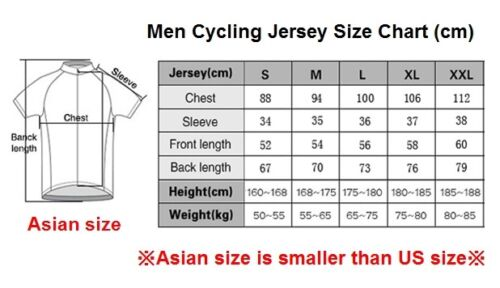 Men Cycling Jerseys M Replica Netherlands Team Giant Bike Clothing Road Bicycle