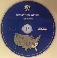 2004 VW TOUAREG SPORT UTILITY V6 V8 WAGON NAVIGATION CD 9 AL GA SC NC FL VER 1