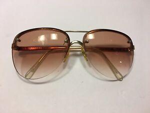 81c34c6173 Men s Zimco RL 0913 Half Rim Gold Amber Eyeglasses 140 large frame ...