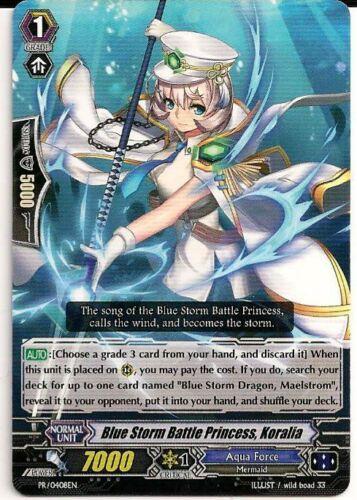 4x Blue Storm Battle Princess Koralia PR//0408EN Vanguard TCG English Promo