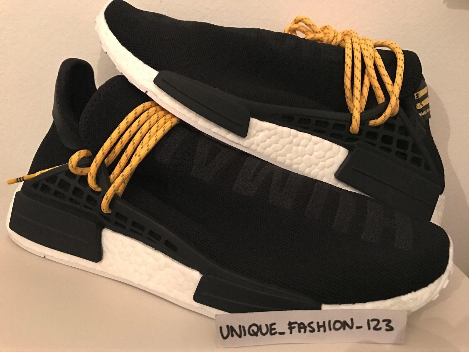 Adidas NMD raza humana Hu Boost Pharrell PW Negro Blanco Boost Hu feeeee