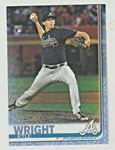 2019-Topps-Series-2-BLUE-PARALLEL-473-KYLE-WRIGHT-RC-Rookie-47-50-Atlanta-Braves
