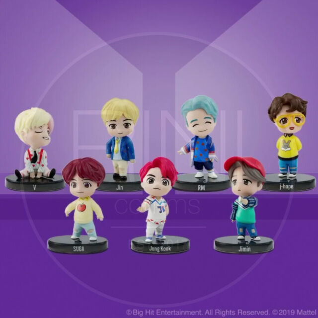 BTS POP-UP HOUSE OF BTS Official MD Mini Figure + Tracking