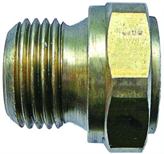 "CEMFB 04//06 Tubo Adaptador de tubo de latón ITM Od Macho 1//4/"" tubo OD Hembra 6mm"