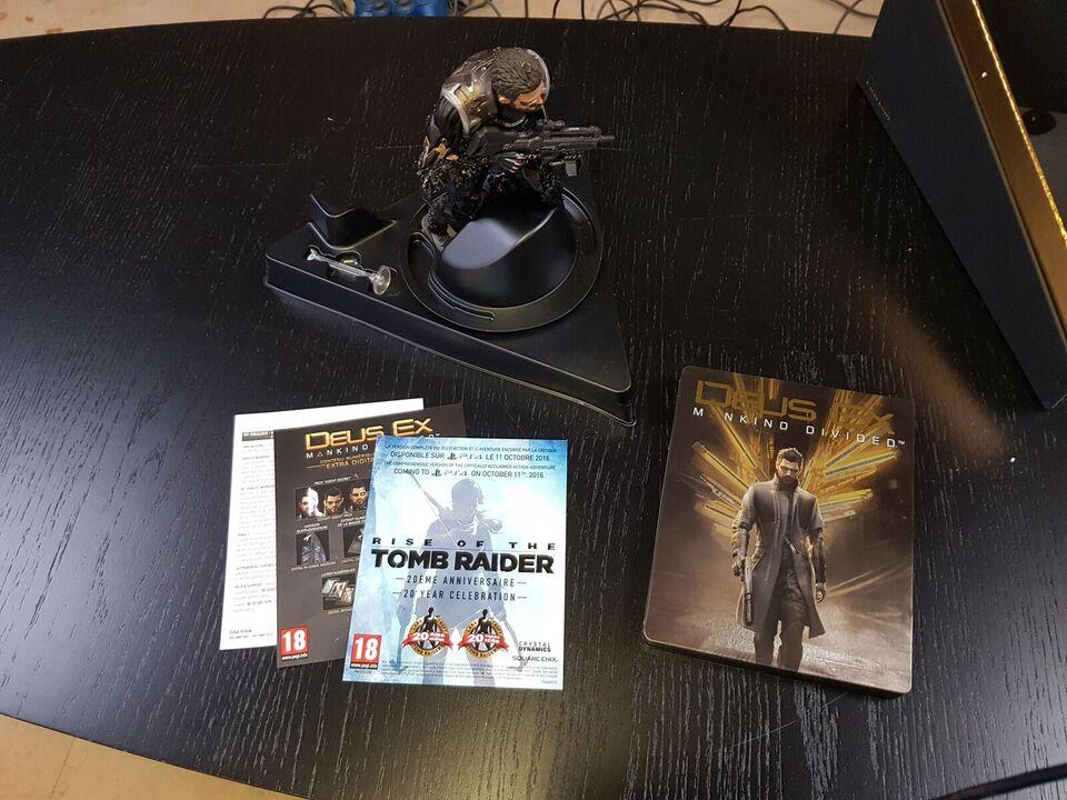 Deus Ex Mankind Devided Collectors Edition, PS4, action