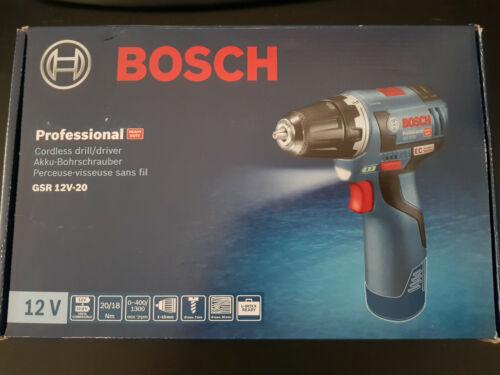 Bosch GSR VE 12v-20 Batterie-Percussion 06019d4002 Solo