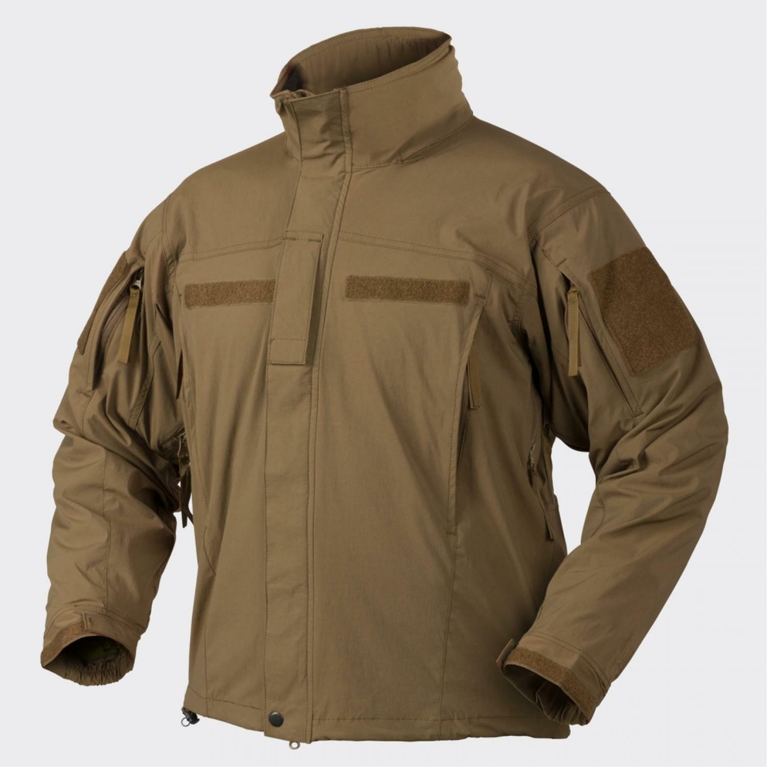 HELIKON TEX SoftShell Jacke APCU Level V Advanced Buitenshuis Combat Coat coyote M