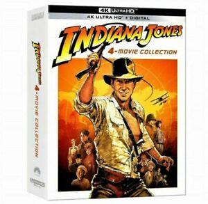 Indiana Jones 4-Movie Collection (4K UHD Blu-ray + Digital Copy, 2021)
