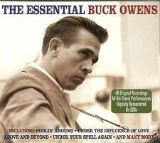 THE ESSENTIAL BUCK OWENS - 2 CD BOX SET - FOOLIN' AROUND & MORE