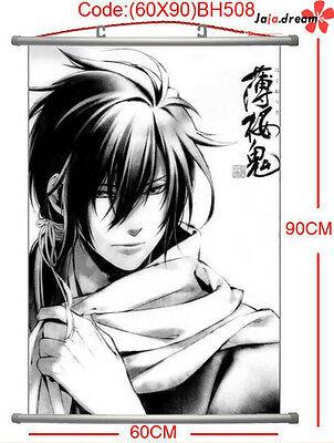 Hakuouki Anime Manga Wallscroll Stoffposter 60x90cm Neu