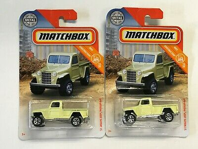 MATCHBOX 2019 MAINLINE LOT TO PICK FROM