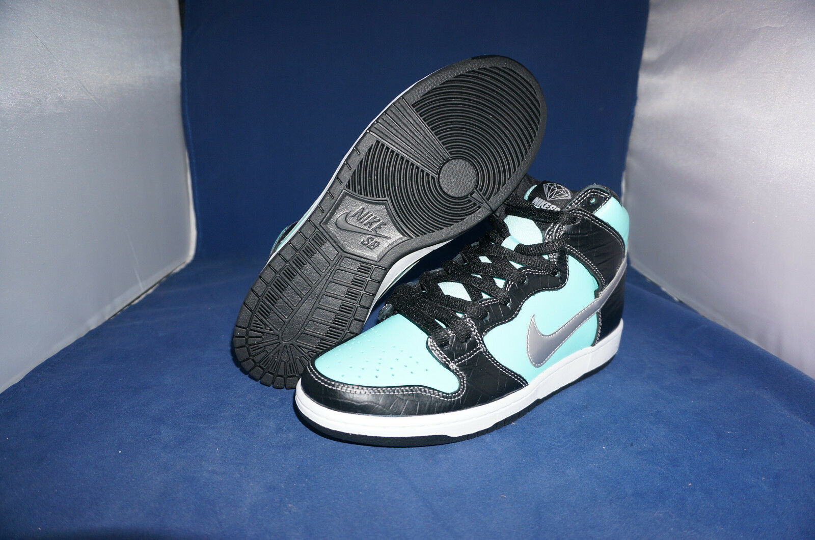 653599 400 Nike SB Dunk High Diamond SZ SZ SZ 12 350ff4