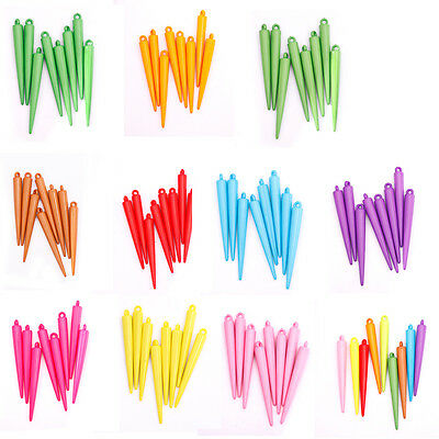 20pcs New Arrvial Acrylic Spike Bead Charms Basketball Wives For Earrings 53mm