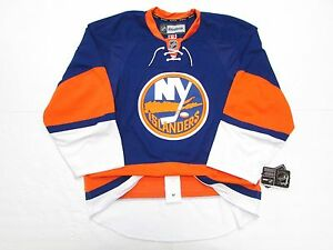 uk availability db5ed 88ab0 Details about NEW YORK ISLANDERS AUTHENTIC HOME REEBOK EDGE 2.0 7287 HOCKEY  JERSEY