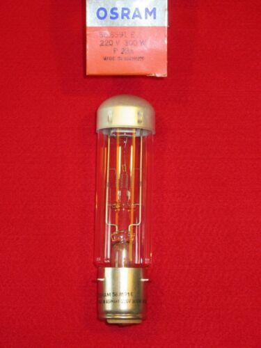 58.8591e OSRAM 220v 300w p28s nuevo embalaje original proyector lámpara proyector 588591 e