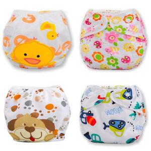 Adjustable-Reusable-Babyduct-Pants-Swim-Diaper-Waterproof-Nappy-Washable
