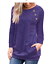 Women-039-s-Long-Sleeve-Crew-Neck-Pullover-Sweater-Casual-Pocket-Blouse-Tops-T-Shirt miniature 17