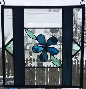Stained-Glass-Bevels-Panel-Steel-Blue