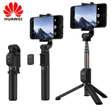 bba6c37fb9f88d 360°Rotation Wireless Bluetooth Control Tripod Stand Selfie Stick for Huawei  P10