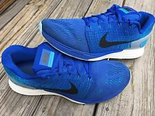 Nike LunarGlide 7 Men's Size 12 Royal Blue Running Shoes 747355-401
