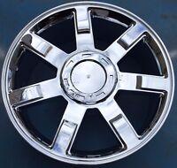 One 22 Chrome Wheel Rim Fits 2007-2014 Cadillac Escalade Ext Esv Brand