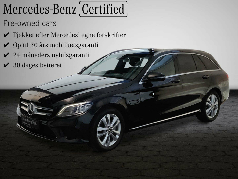 Mercedes C220 d 2,0 Advantage stc. aut. 5d - 479.900 kr.