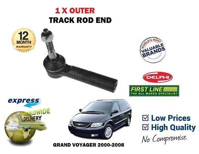 FOR CHRYSLER GRAND VOYAGER 2.0 2.5DT 3.3 1996-2001 NEW FRONT OUTER TRACK ROD END