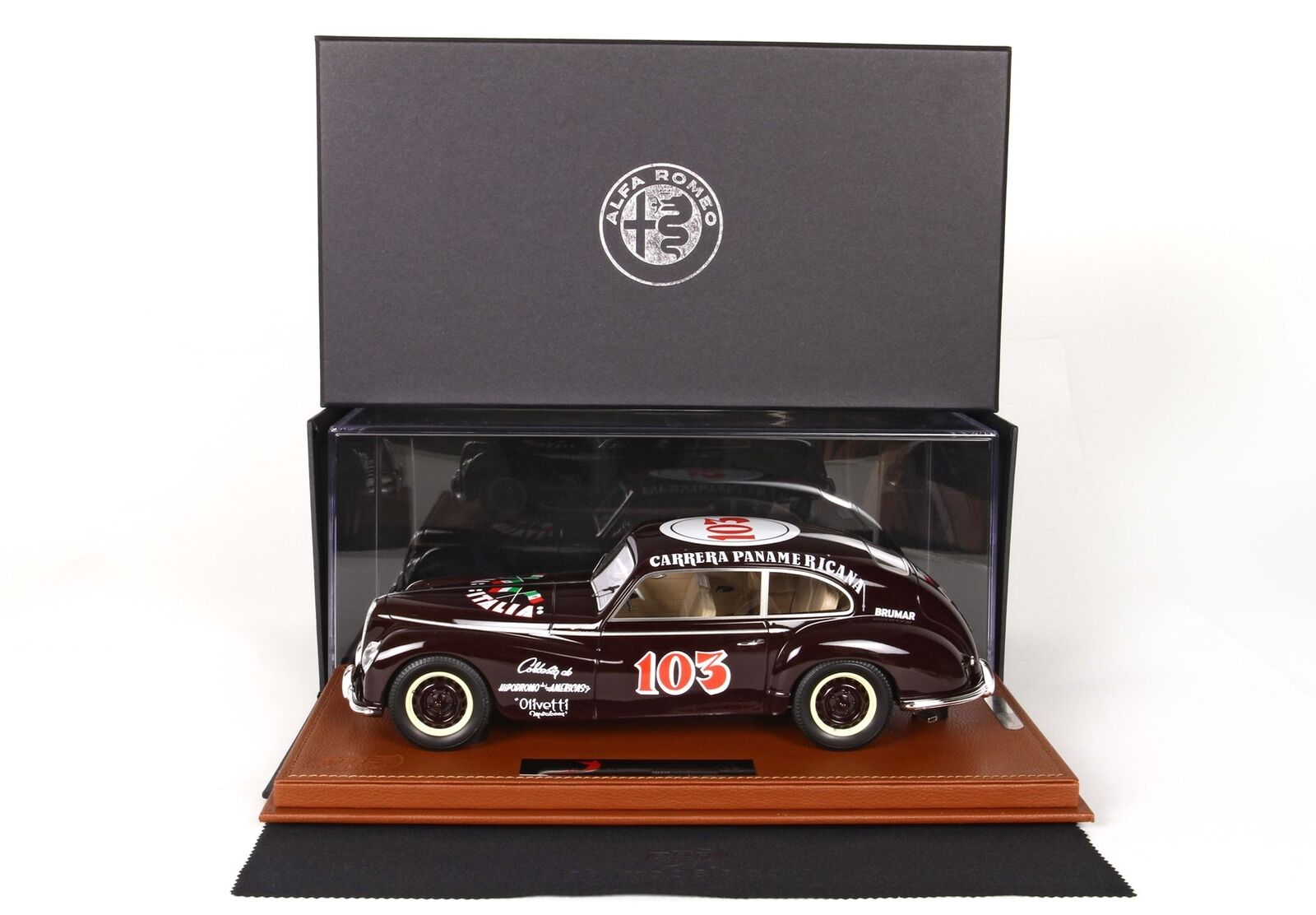 Alfa Romeo 6C 2500 Freccia D'or Carrera Panamericana 1950 BBR 1 18 BBRC1810BV