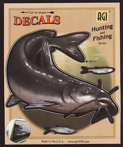 Channel-Catfish-Large-Decal-Sticker-Right-Left-Facing-Boats-Trucks-Fishing-Fish