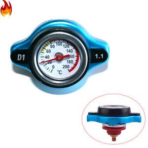 1.1 Bar Thermostatic Radiator Cap 13 PSI Pressure Rating with Temperature Gauge