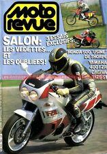 MOTO REVUE 2768 YAMAHA FZR 400 CAGIVA 125 S1 HONDA RCM 500 HRC THORPE ELF E 1986
