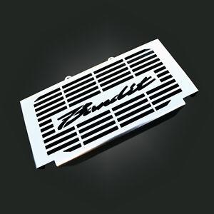 suzuki bandit gsf600 600s acier inoxydable cache radiateur grill ebay. Black Bedroom Furniture Sets. Home Design Ideas