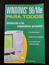 Windows 98/Me Para Todos by Jaime Restrepo (2001, Paperback)