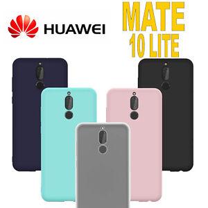 Dettagli su Cover per Huawei Mate 10 Lite L' ORIGINALE Silicone CUSTODIA Qualità PREMIUM