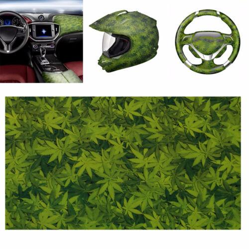 Green Leaves PVA Hydrographic Film Water Transfer Printing Hydro Dip Car Film