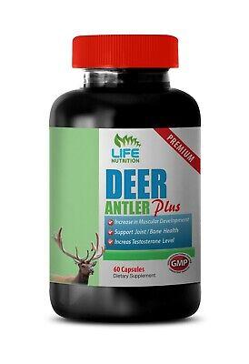 Super Male Enhancement Capsules Deer Antler Plus 555mg Pure