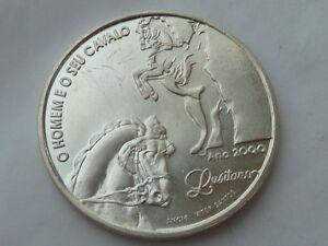 1000-escudos-d-Plata-Portugal-1994-pesa-27-grs-El-hombre-y-su-Caballo-Lusitano