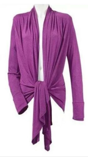 HEINE Designer Wickeljacke Shirt Jacke Shirtjacke zum Knoten NEU pink