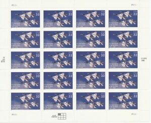 US-3167-Full-Mint-Pane-1997-DEPARTMENT-OF-THE-AIR-FORCE-20-32-FV-6-40