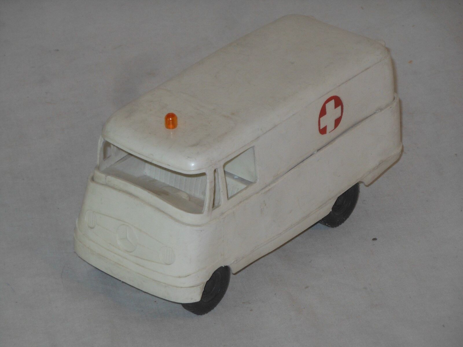 GAMA - MERCEDES BENZ BUS - 20 cm - VINTAGE TOY - WEST GERMANY - 11