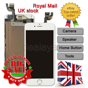 64dfd09abcd Image is loading For-iPhone-6-Replacement-Digitizer-Touch-Screen-White-