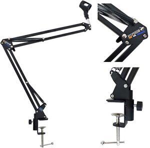 Keepdrum-nb35-Microphone-Trepied-de-table-mikrofonarm-Couronne-Trepied