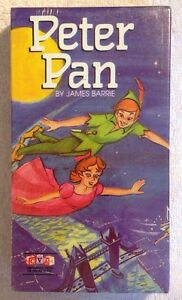 Peter-Pan-By-James-Barrie-NEW-SEALED-VHS