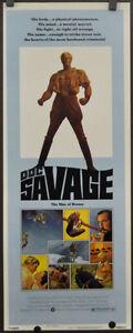 DOC-SAVAGE-MAN-OF-BRONZE-1975-ORIG-14X36-MOVIE-POSTER-RON-ELY-PAUL-GLEASON