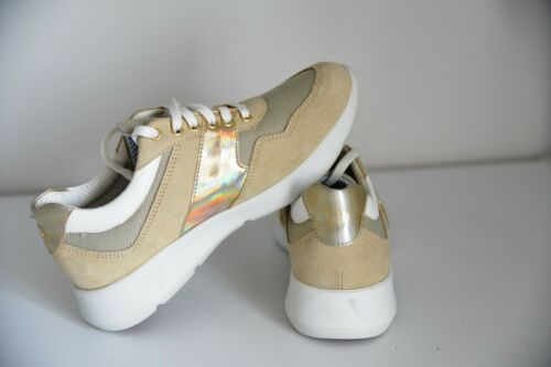 New Sneakers Scarpe Gold 5 Uk basse Premium Womens Beige Sand Sneakers Byblos ABOUrA
