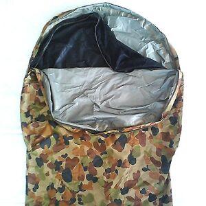TACTICAL MILITARY XL BIVY BAG AUSCAM 3 LAYER BREATHABLE MOZI NET 277X112X93CM