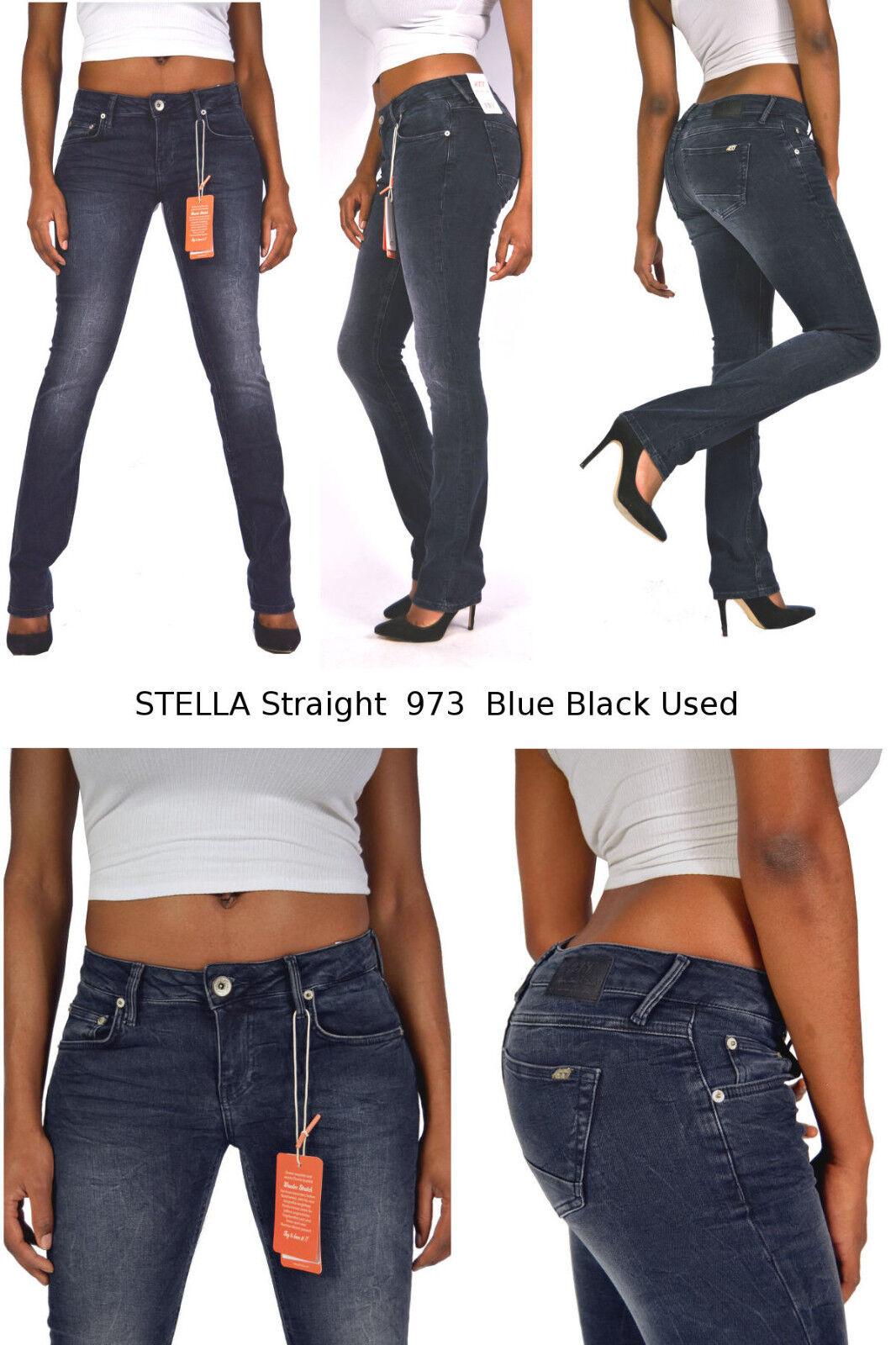 Slim Fit 973 Blue Black used NEU W40 W42 TRUST /& TRUTH Jeans ZOE ATT AMOR