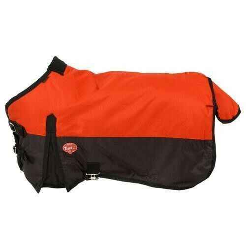 Tough-1 600D Waterproof Poly Turnout Blanket Medium/Heavy 250g Fill