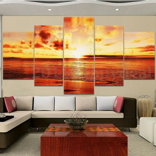 Unframed Modern Abstract Art Canvas Painting Picture Print Home Wall Decor UK j