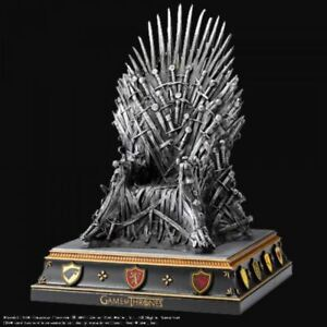 Details Sur Game Of Thrones Repasser Trone Serre Livre The Noble Collection Officiel